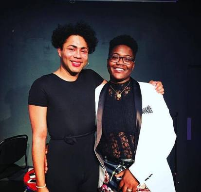 Travis Alabanza & SA Smythe at the Hackney Showroom